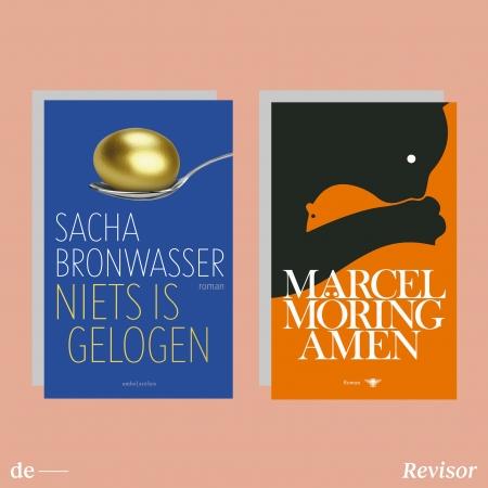 Sacha Bronwasser, Marcel Möring: de redactie van De Revisor las een debuut over kunst dat toch een onmiskenbare kracht heeft, en een lyrisch-archeologische rouwroman in een geloofwaardige disbalans.