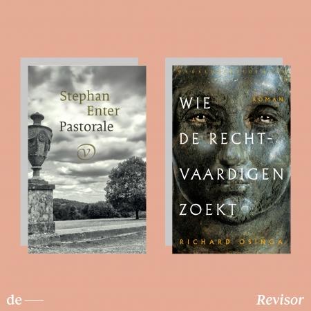 Stephan Enter, Richard Osinga: de redactie van De Revisor las een mooie, broeierige roman die subtiel grote verschillen aanraakt, en een mozaïekroman met mindere en ijzersterke verhalen.