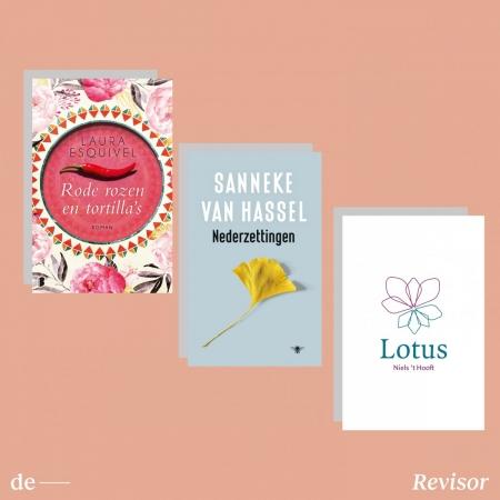 Deze week gelezen: Sanneke van Hassel, Laura Esquivel, Niels 't Hooft