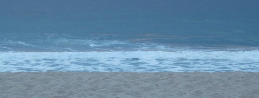 Zee. Foto van Rosanna del Negro bij haar verhaal Zwemmen