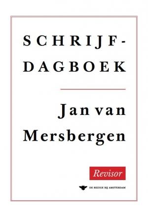 Jan van Mersbergen, Schrijfdagboek